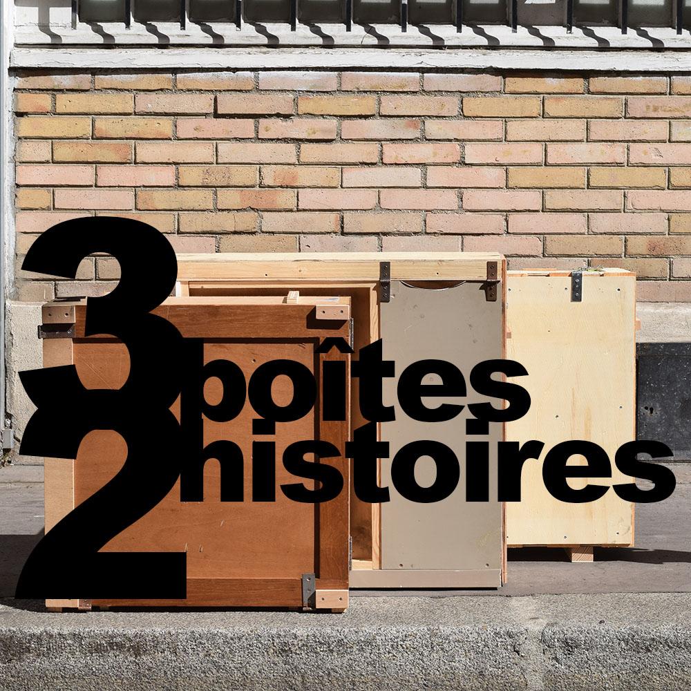 3 boîtes de 2 histoires